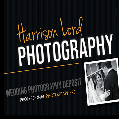 Harrison Lord Photography Wedding Deposit Voucher