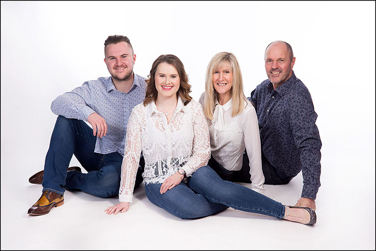 family portrait by Harrison Lord Photography 2