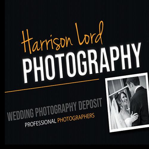 Harrison Lord Photography Wedding Deposit Voucher