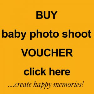 baby photo shoot voucher by Harrison Lord Photography